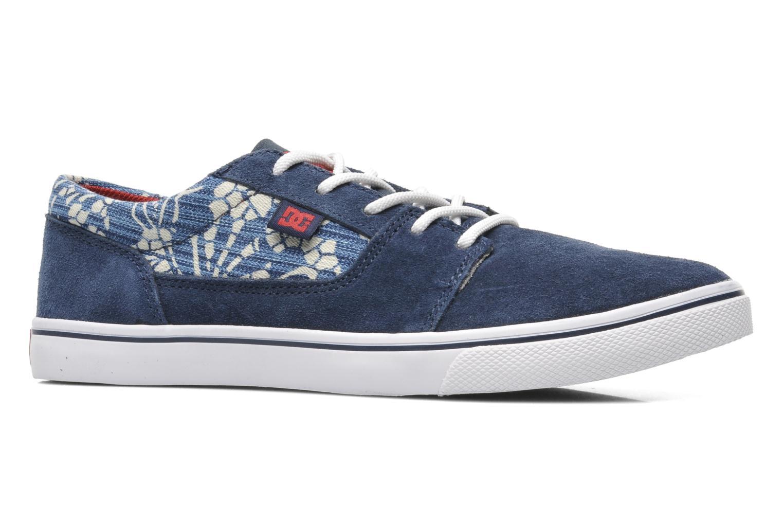 Baskets DC Shoes Tonik W Se Bleu vue derrière