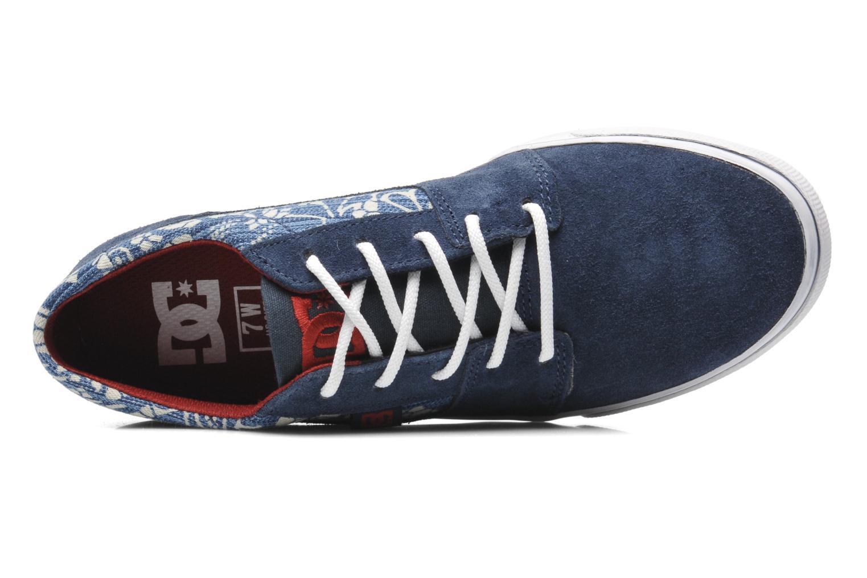 Baskets DC Shoes Tonik W Se Bleu vue gauche