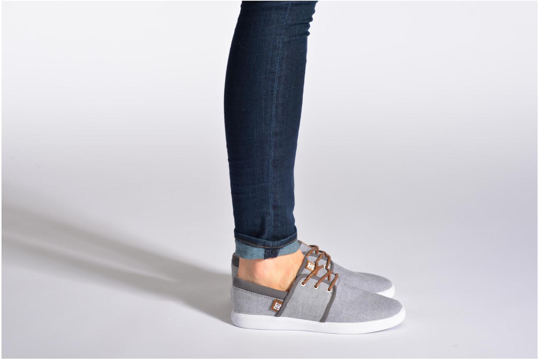 Sneaker DC Shoes Haven Tx Se W blau ansicht von unten / tasche getragen