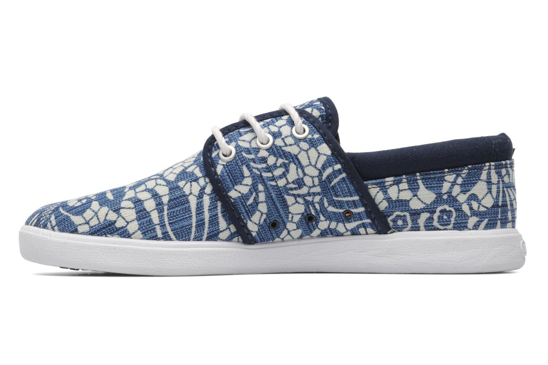 Sneaker DC Shoes Haven Tx Se W blau ansicht von vorne
