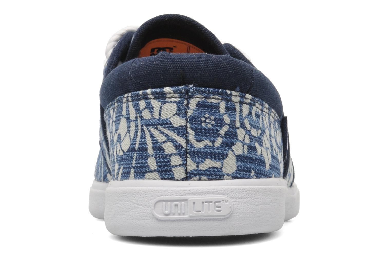 Sneaker DC Shoes Haven Tx Se W blau ansicht von rechts