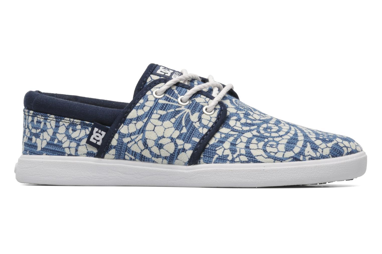 Sneaker DC Shoes Haven Tx Se W blau ansicht von hinten