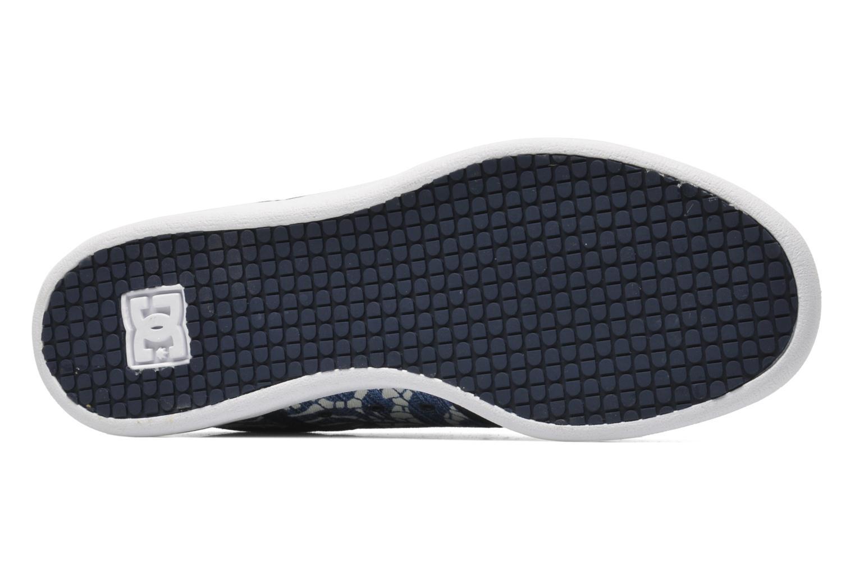 Sneaker DC Shoes Haven Tx Se W blau ansicht von oben