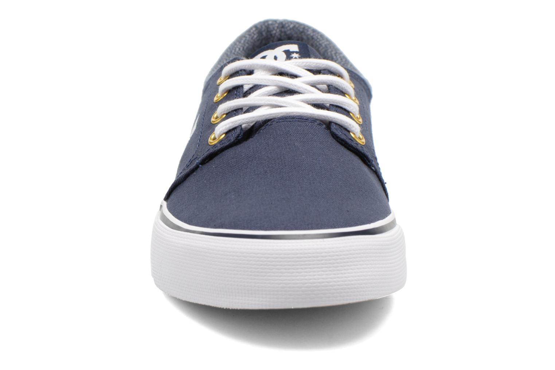 Baskets DC Shoes TRASE TX SE Bleu vue portées chaussures