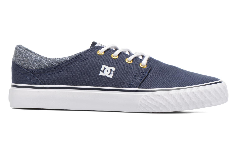 Baskets DC Shoes TRASE TX SE Bleu vue derrière