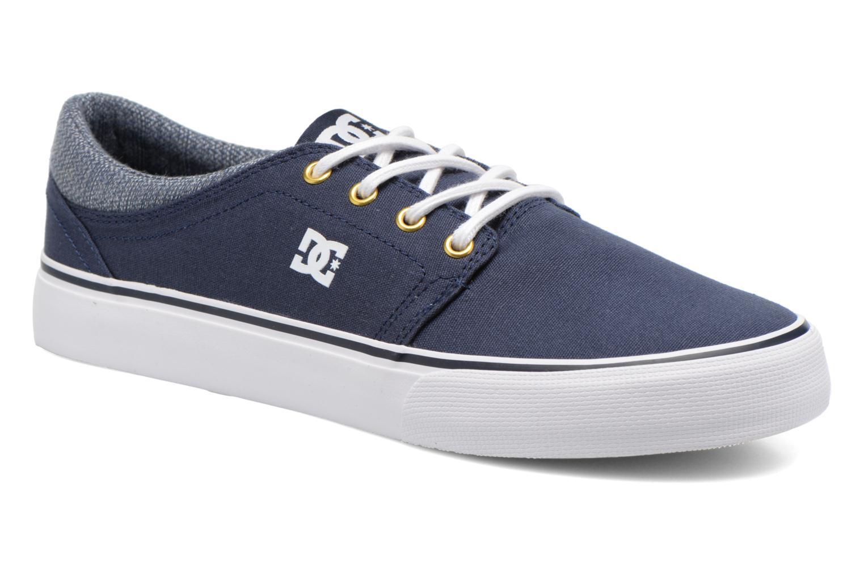 Baskets DC Shoes TRASE TX SE Bleu vue détail/paire