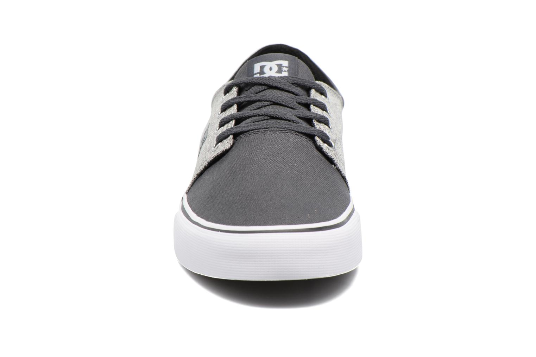 Baskets DC Shoes TRASE TX SE Gris vue portées chaussures