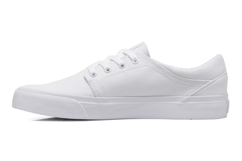 Sneaker DC Shoes Trase Tx weiß ansicht von vorne