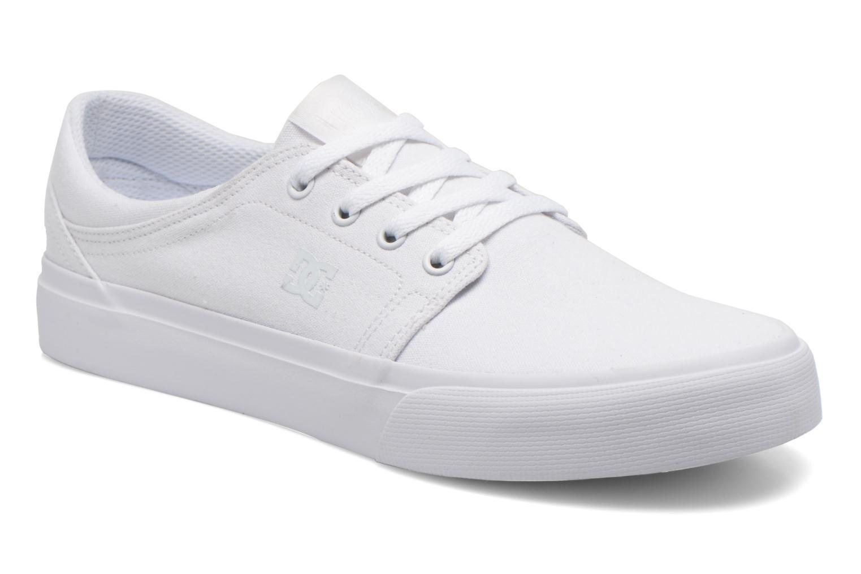 Sneaker DC Shoes Trase Tx weiß detaillierte ansicht/modell