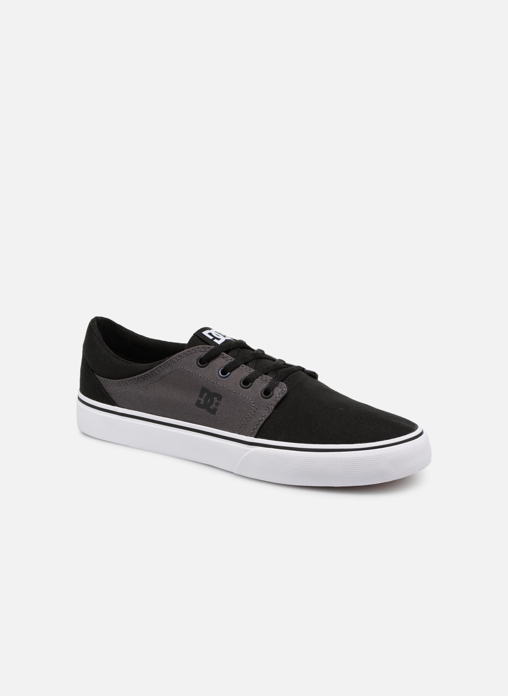 Deportivas DC Shoes Trase Tx Negro vista de detalle / par
