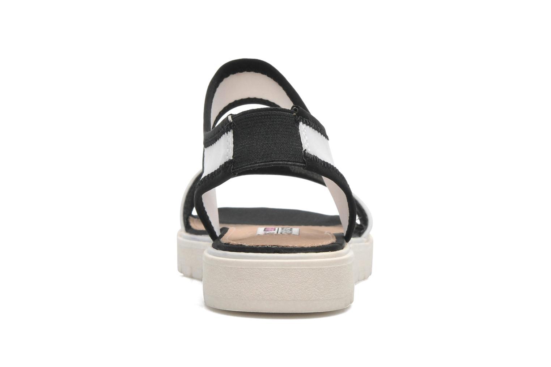 Sandales et nu-pieds Steve Madden PRESSIN Blanc vue droite