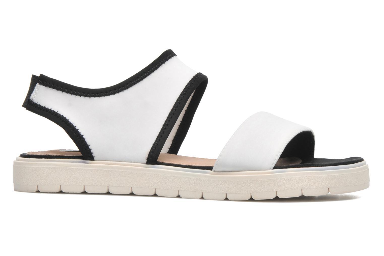 Sandales et nu-pieds Steve Madden PRESSIN Blanc vue derrière