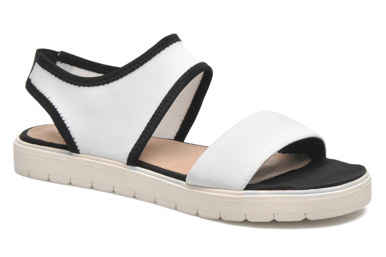 Sandales et nu-pieds Steve Madden PRESSIN Blanc vue détail/paire