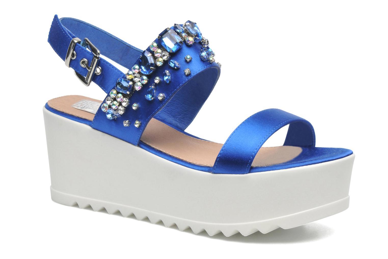 Sandales et nu-pieds Steve Madden GLITZ Bleu vue détail/paire