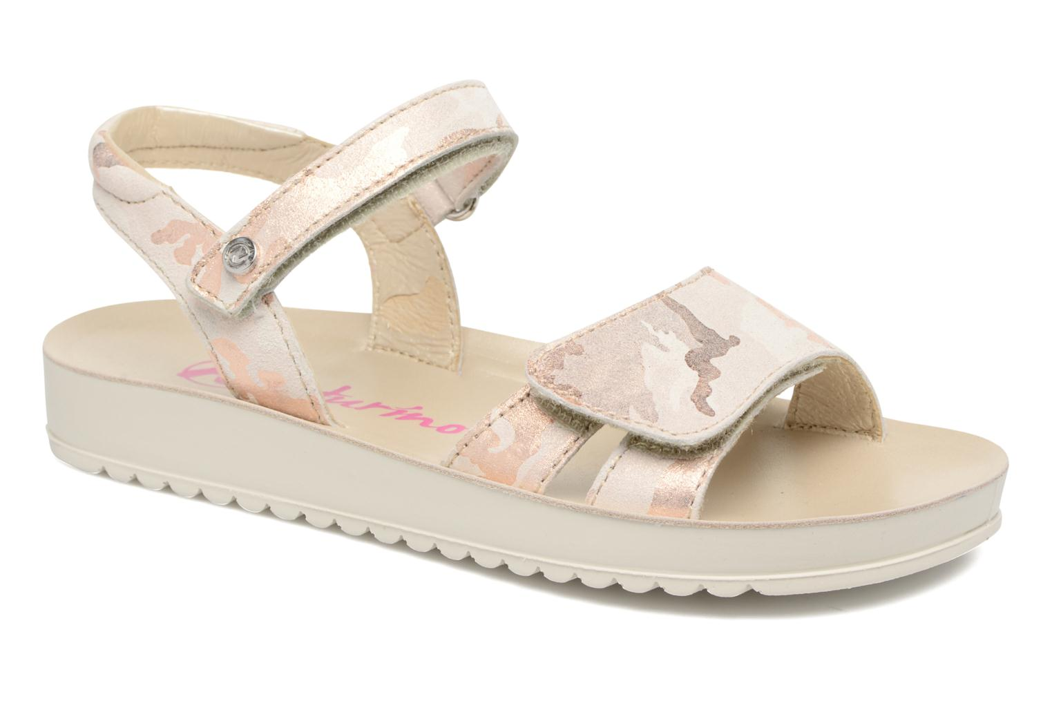 Sandals Naturino Donna 6003 Pink detailed view/ Pair view