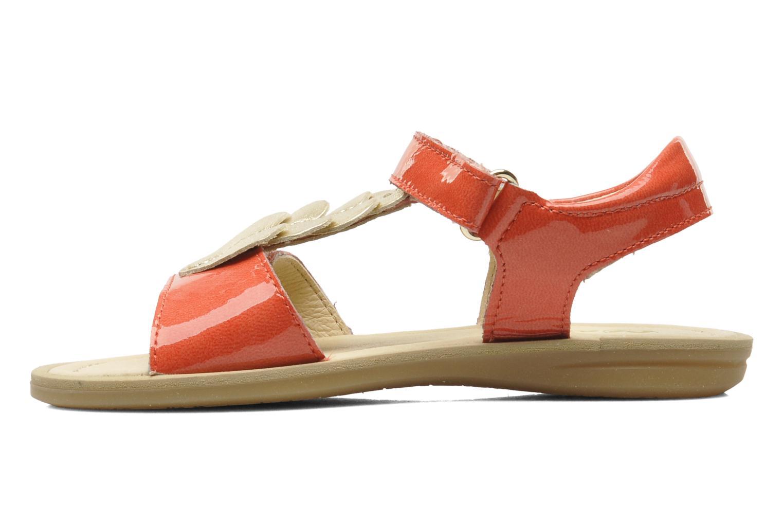 Sandales et nu-pieds Naturino Maria 3951 Rose vue face