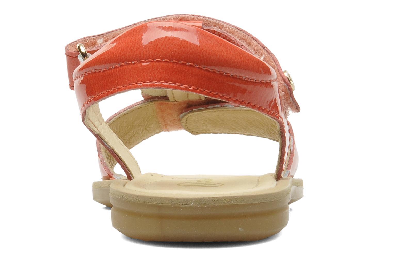 Sandales et nu-pieds Naturino Maria 3951 Rose vue droite