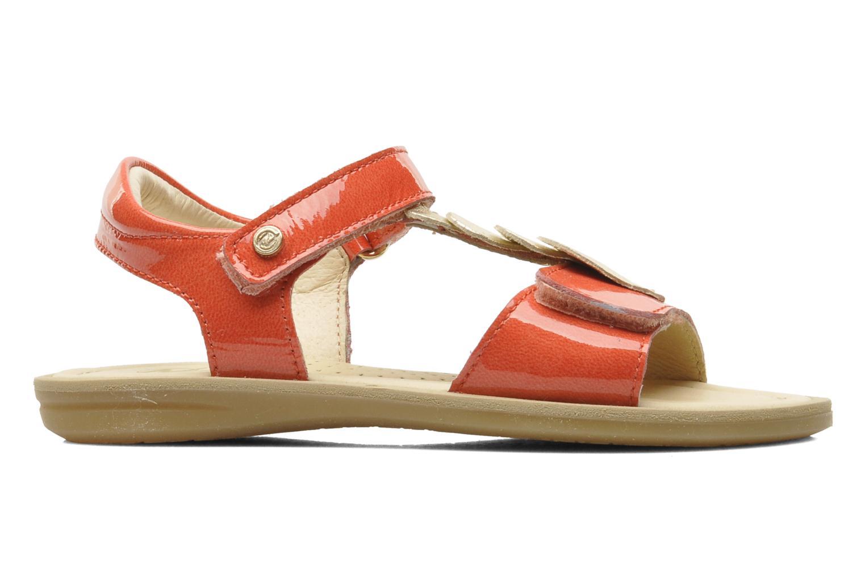 Sandales et nu-pieds Naturino Maria 3951 Rose vue derrière