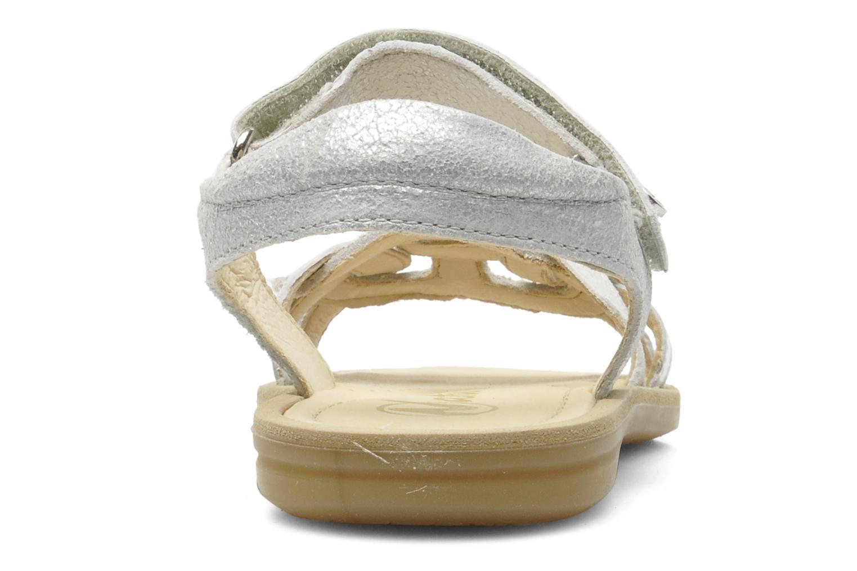 Sandales et nu-pieds Naturino SARA 3952 Argent vue droite