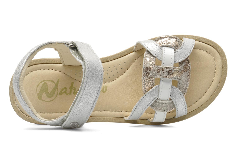 Sandales et nu-pieds Naturino SARA 3952 Argent vue gauche