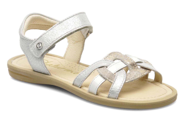 Sandales et nu-pieds Naturino SARA 3952 Argent vue détail/paire