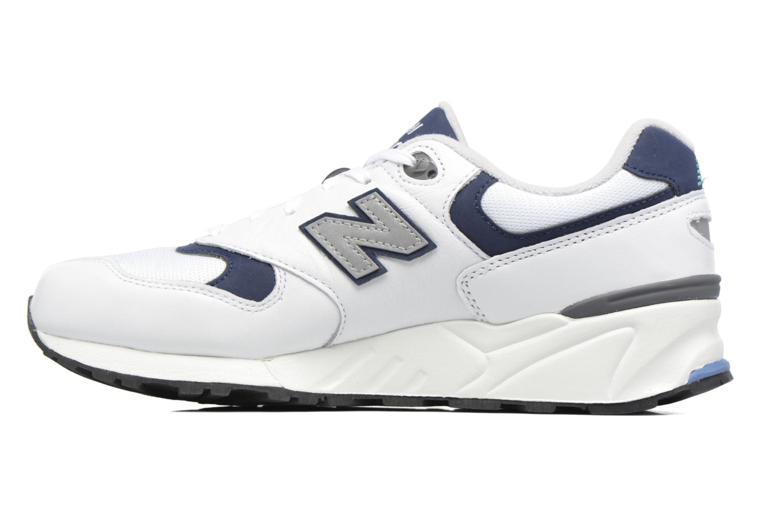 Baskets New Balance ML999 Blanc vue face