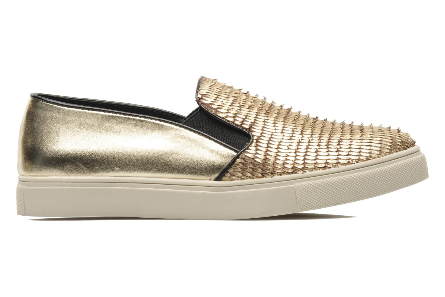 Trainers Steve Madden ECENTRICG Bronze and Gold back view