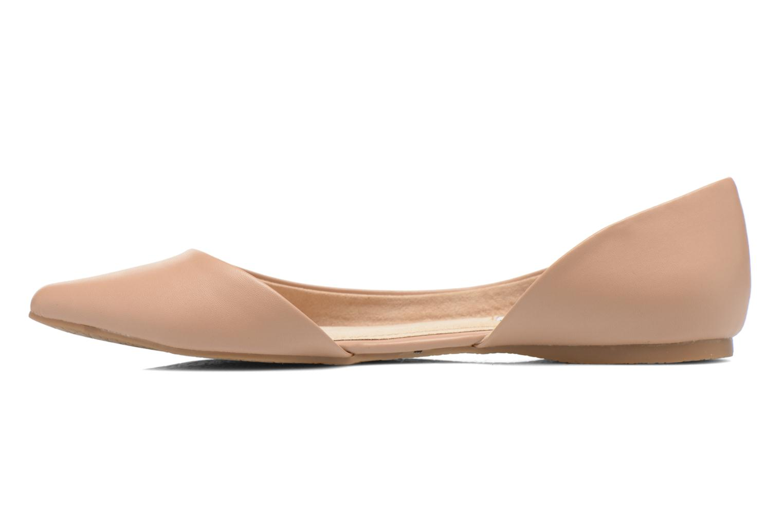 Ballerina's Steve Madden ELUSION Beige voorkant