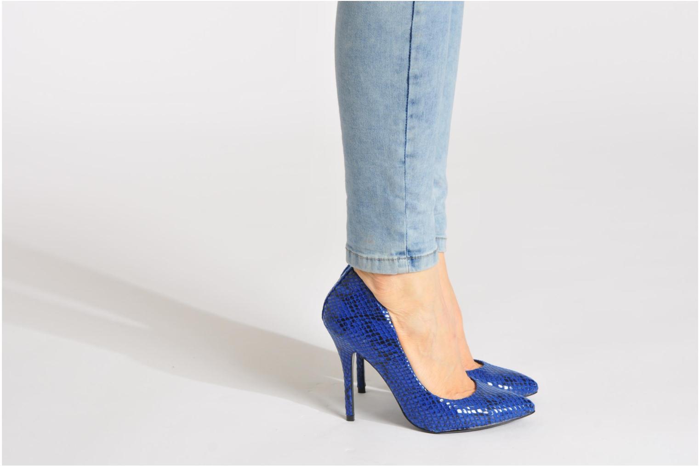 High heels Steve Madden GALLERYS Orange view from underneath / model view
