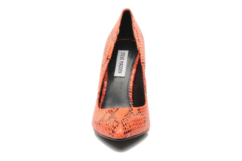 High heels Steve Madden GALLERYS Orange model view