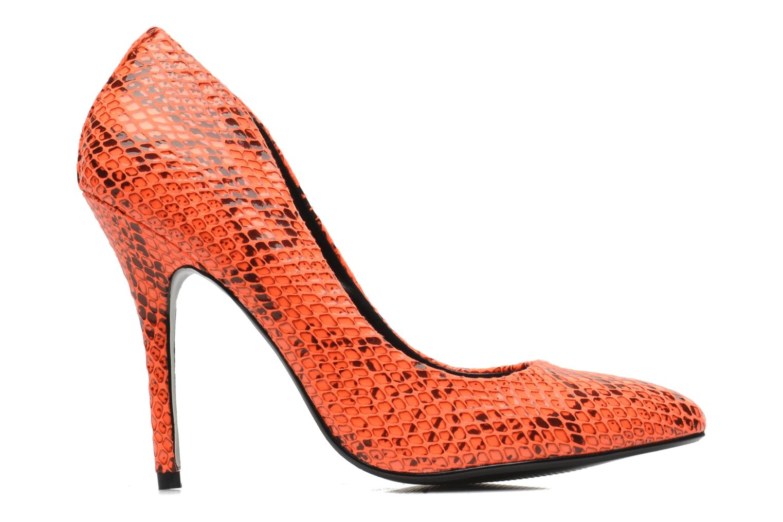 High heels Steve Madden GALLERYS Orange back view