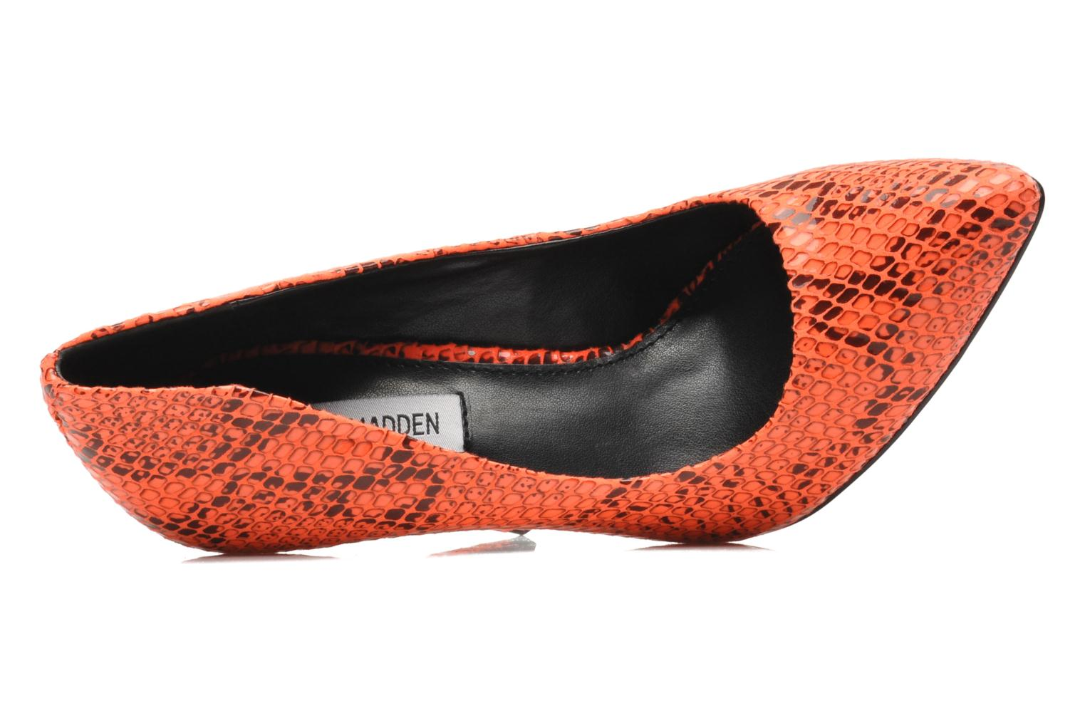 High heels Steve Madden GALLERYS Orange view from the left