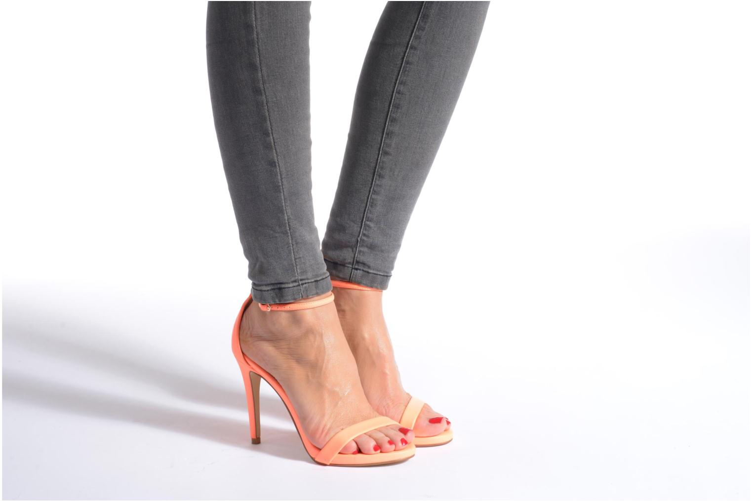 Stecy Sandal Coral Smooth