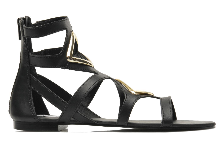Sandales et nu-pieds Steve Madden TELLY Noir vue derrière