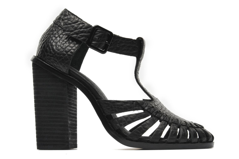 Sandalen Intentionally blank Tilted Zwart achterkant