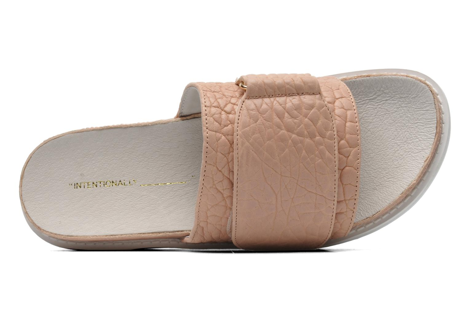 Reture Pink pebbled leather
