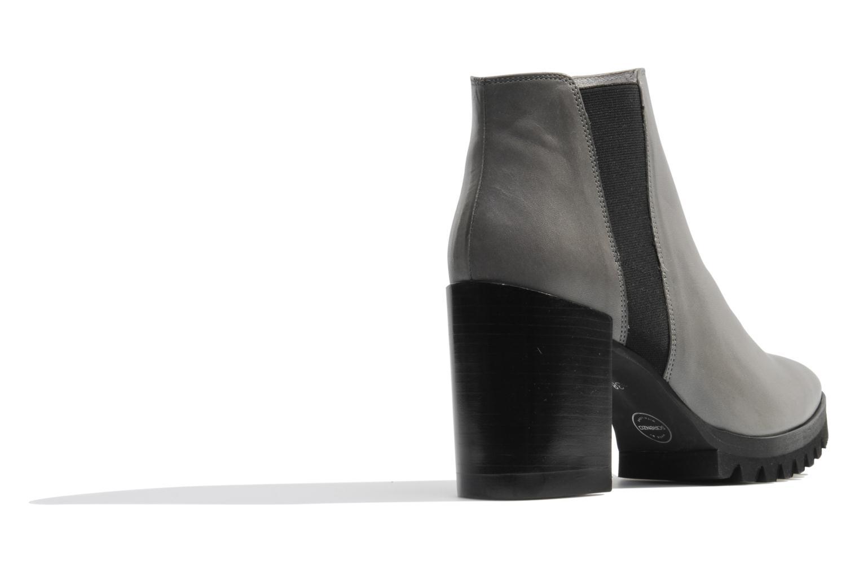 Bottines et boots Made by SARENZA Queen of pétanque #1 Gris vue face
