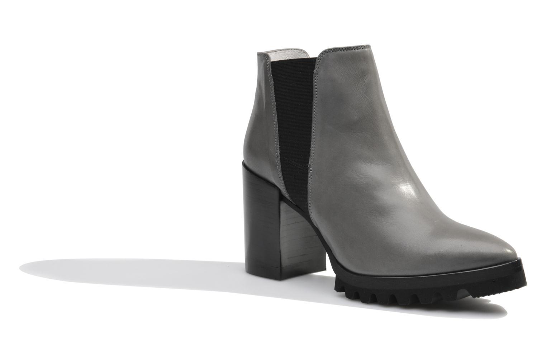 Bottines et boots Made by SARENZA Queen of pétanque #1 Gris vue droite