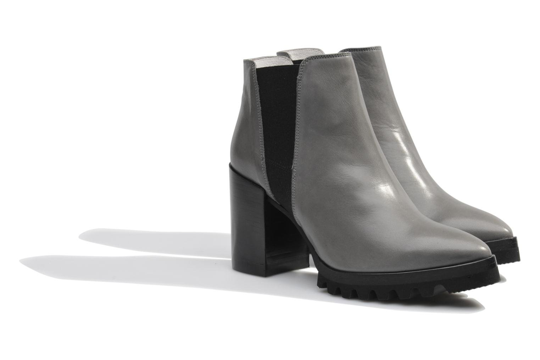 Bottines et boots Made by SARENZA Queen of pétanque #1 Gris vue derrière