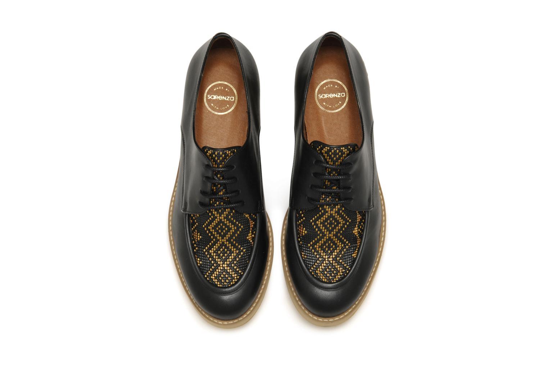 Schnürschuhe Made by SARENZA Cape Town #5 schwarz schuhe getragen
