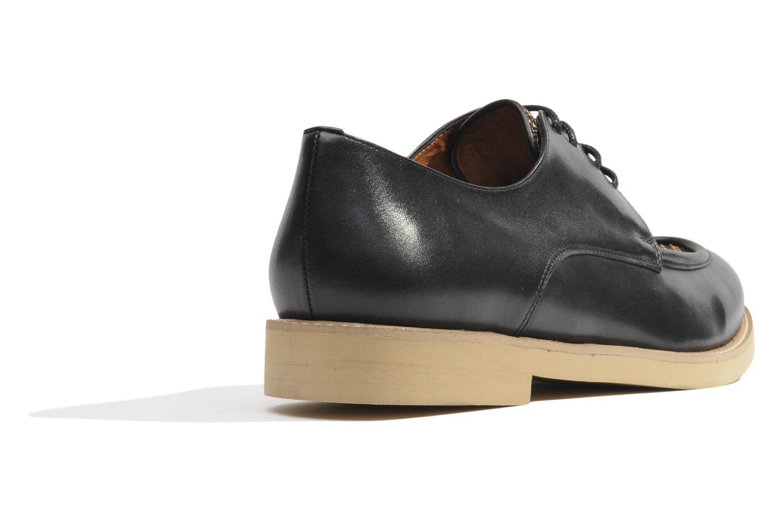 Chaussures à lacets Made by SARENZA Cape Town #5 Noir vue face
