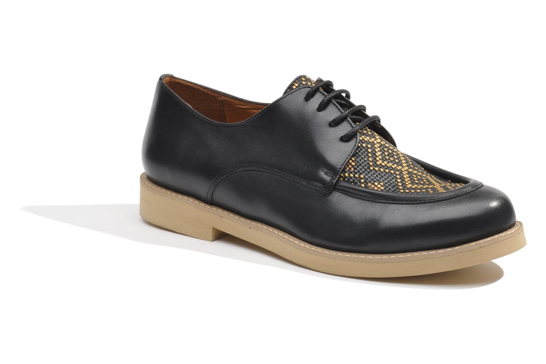Chaussures à lacets Made by SARENZA Cape Town #5 Noir vue droite