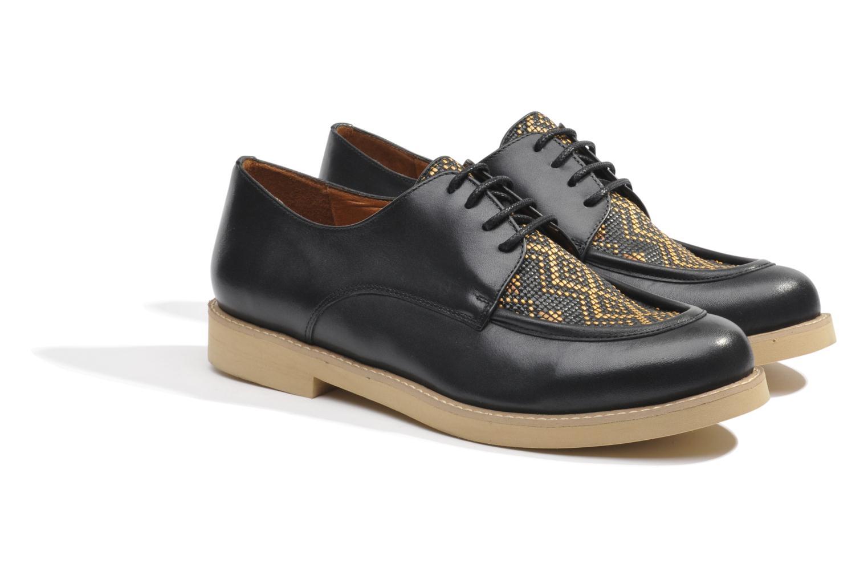 Chaussures à lacets Made by SARENZA Cape Town #5 Noir vue derrière