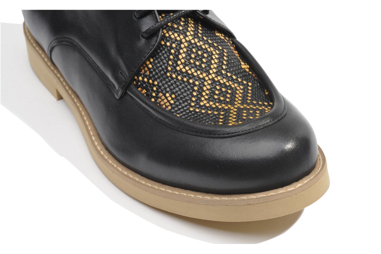 Chaussures à lacets Made by SARENZA Cape Town #5 Noir vue haut