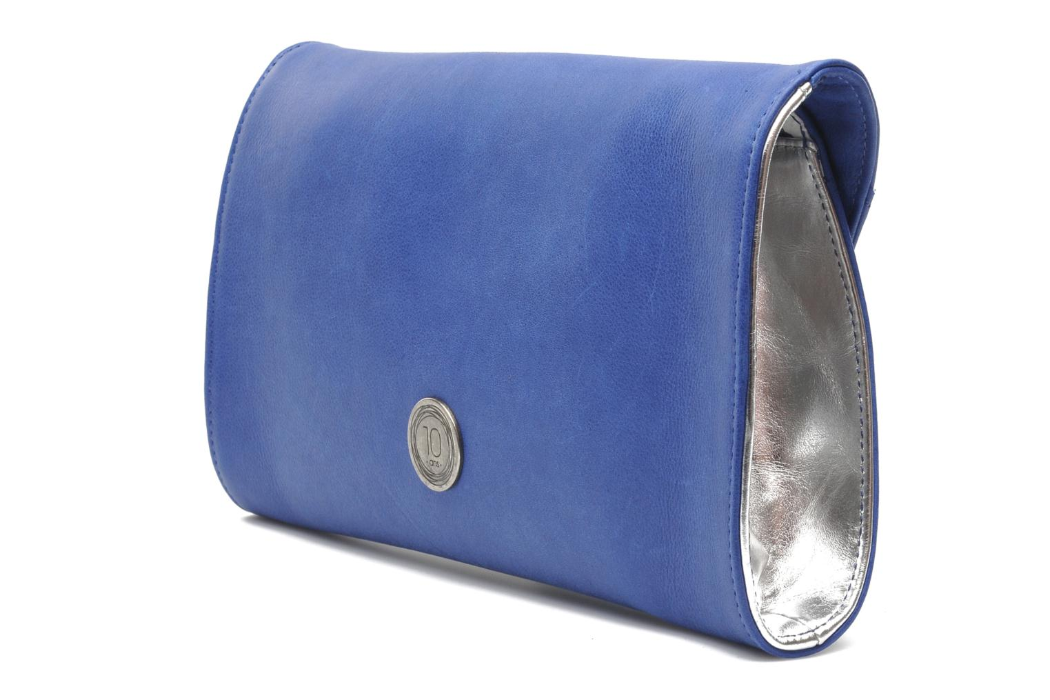 Clutch bags Nat & Nin Bastille Day Blue view from the right