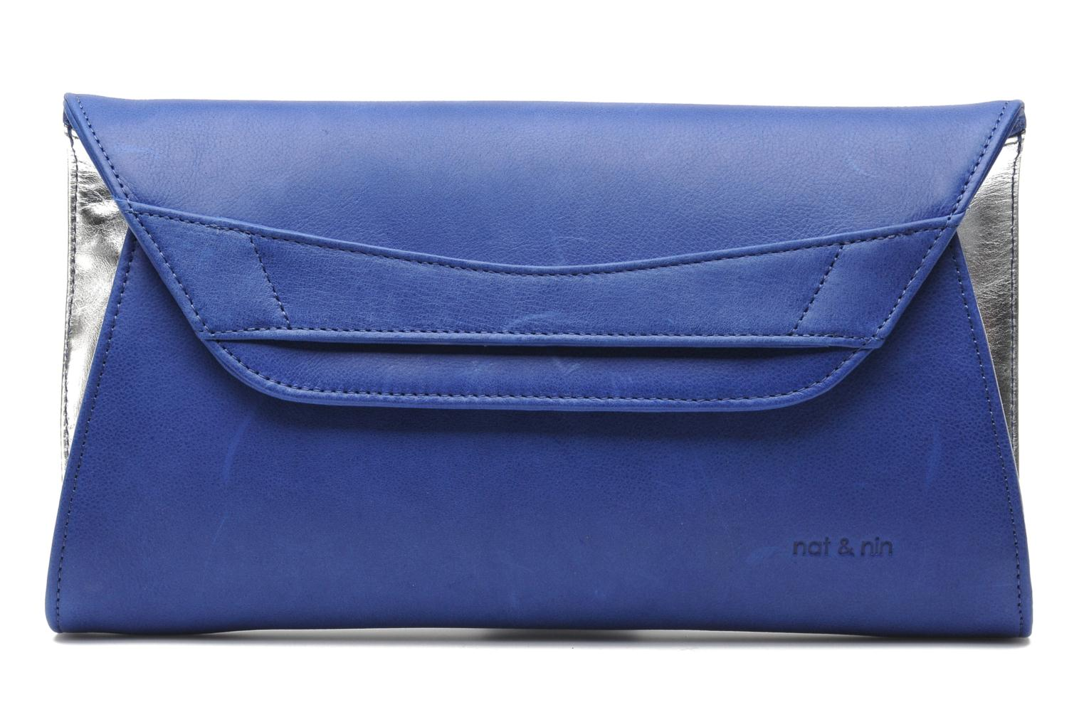 Clutch bags Nat & Nin Bastille Day Blue detailed view/ Pair view