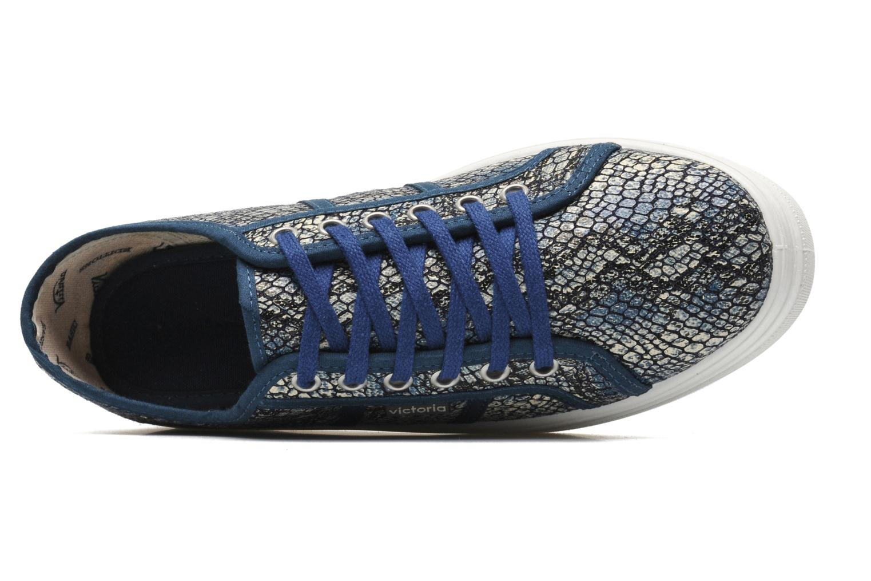 Blucher Lona Reptil Plataforma Azul