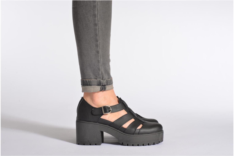 Sandales et nu-pieds Victoria Sandalia Tacon Blanc vue bas / vue portée sac
