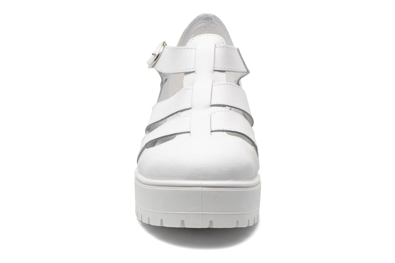Sandales et nu-pieds Victoria Sandalia Tacon Blanc vue portées chaussures