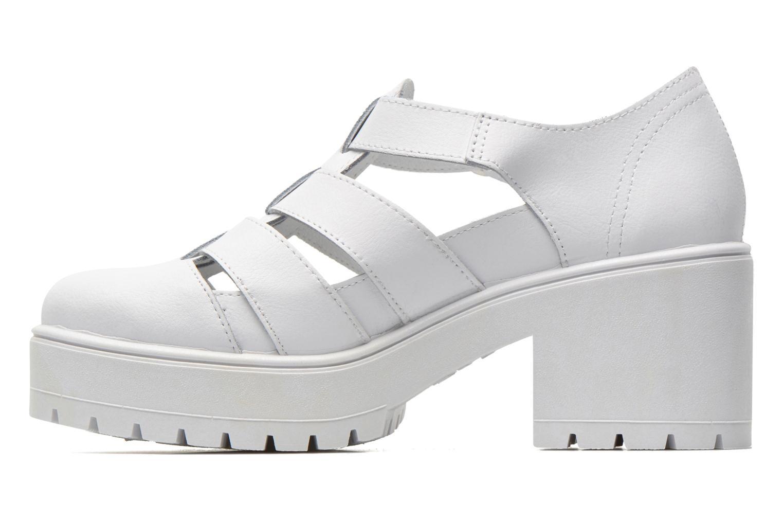 Sandales et nu-pieds Victoria Sandalia Tacon Blanc vue face